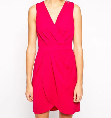 Pink Shift Dress - Midnight