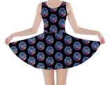 Galaxy Police Box Skater Dress