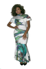 Water Colors Dress Curvy7