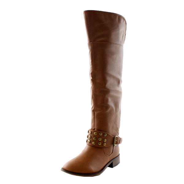 Herley-11 Studded Equestrian Tall Riding Boots