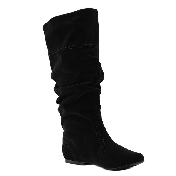 Neo-144 Slouchy Casual Knee High Boots