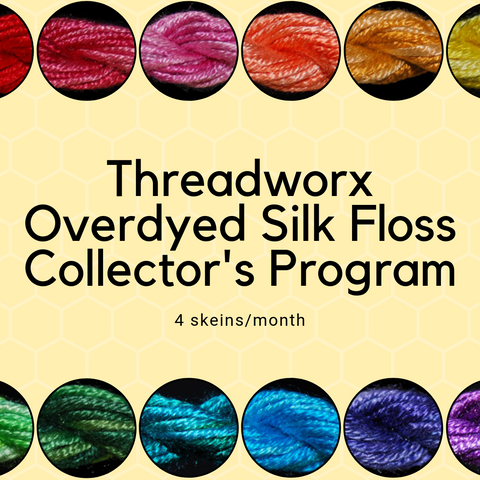 Threadworx Overdyed Au Ver A Soie Silk Floss Collector's Club