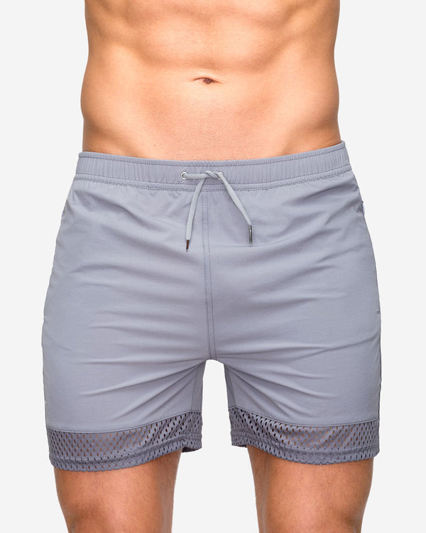 Teamm 8 – Short Level Gunmetal (PREVENTA 🛍️Entrega: 26 Jul)