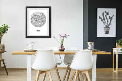 "Queens Map Poster - 18 by 24"" City Map Print"