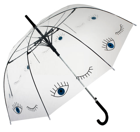 Blue Eye Transparent Umbrella - Blooms of London - Designs inspired by nature