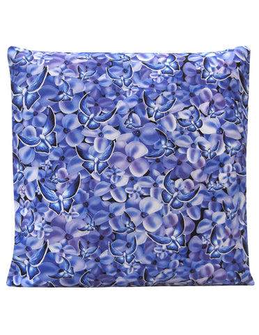 Blue Butterflies Design Cushion - Blooms of London - Designs inspired by nature
