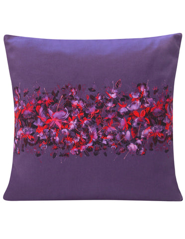 Fuchsia Design Cushion Cover - Blooms of London - Designs inspired by nature