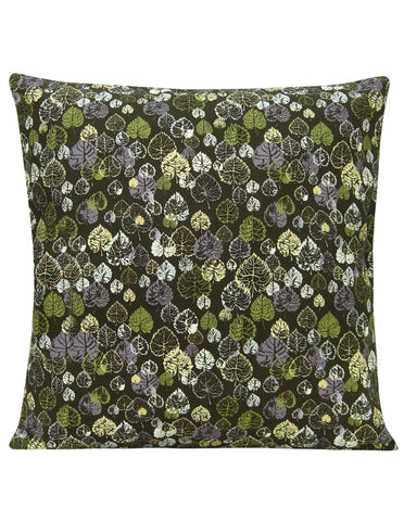 Heart Leaf Green Cushion Cover - Blooms of London - Designs inspired by nature