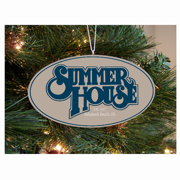 Summer House Ornament
