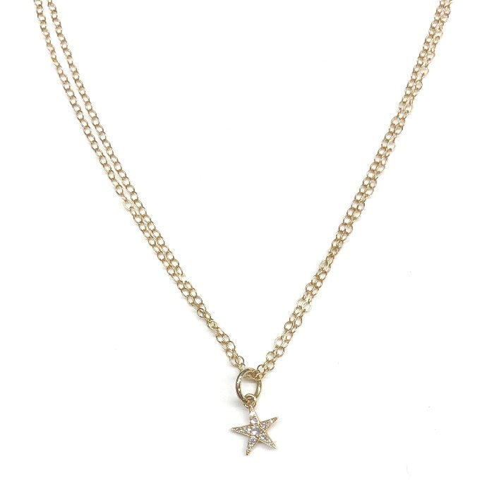 Brilliant Diamond Star Necklace - Nikki Smith Designs