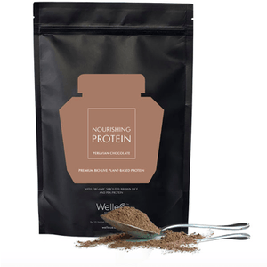 NOURISHING PLANT PROTEIN Chocolate (300g) Refill Pac SUPPLEMENTS Welleco