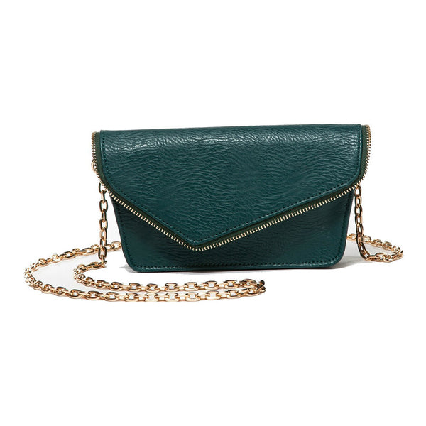 Alexia Green Crossbody and Belt Bag (RFID-Blocking)