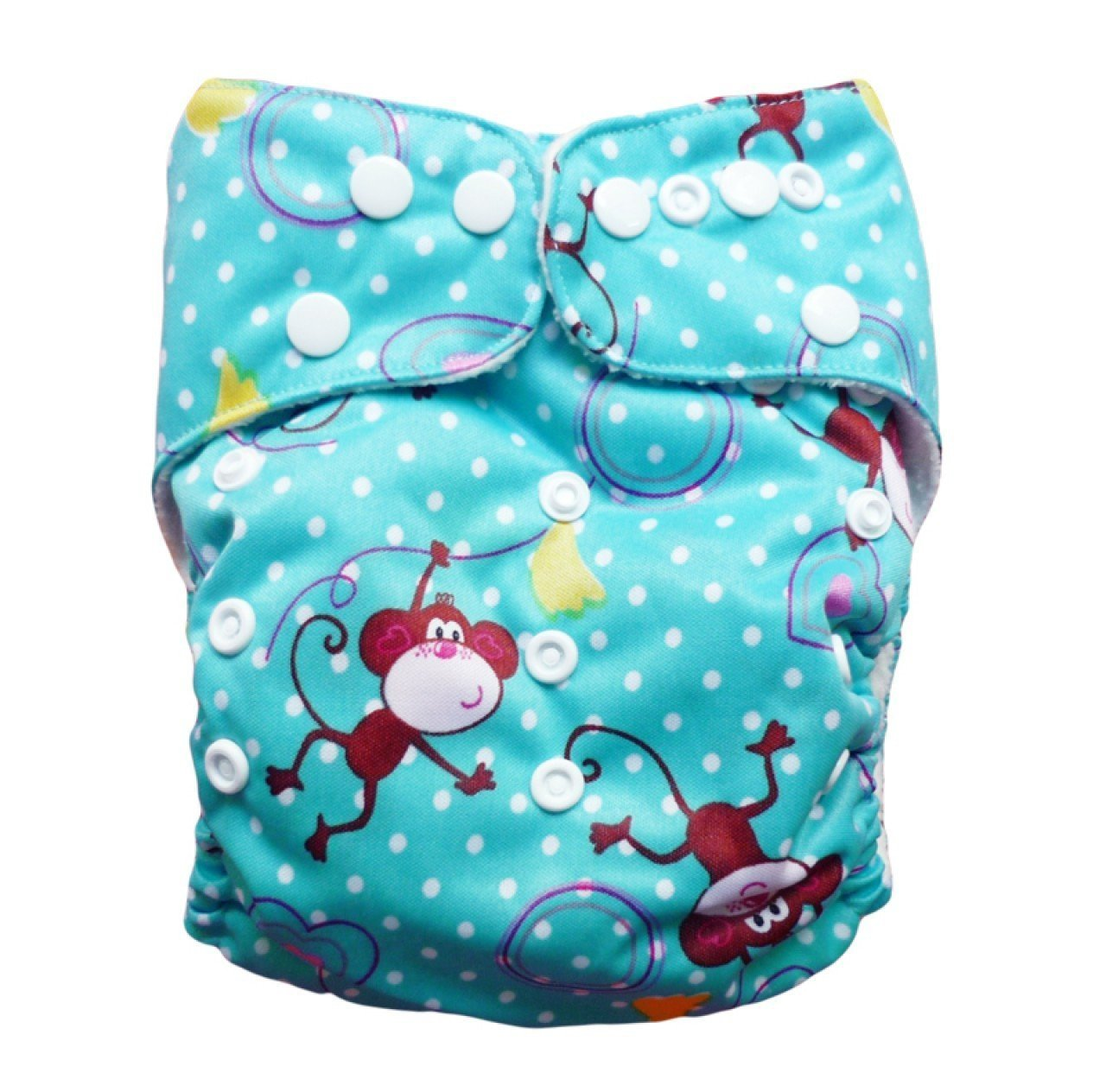 Express the Best Cloth Re-usable Nappy Pack - Cheeky Monkey - Naked Baby Eco Boutique