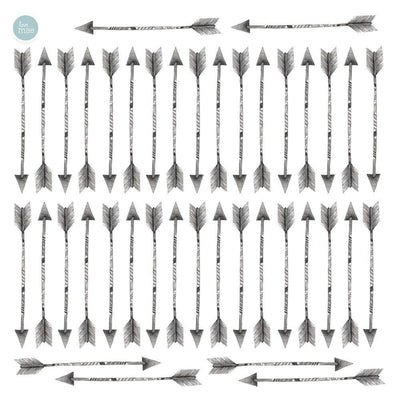 Love Mae Arrows Fabric Wall Decals - Naked Baby Eco Boutique
