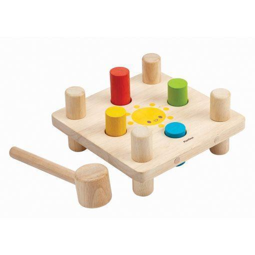 Plan Toys Hammer Pegs - Naked Baby Eco Boutique