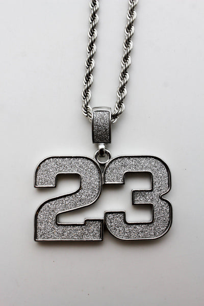 Gold Silver Metal Long Chain Necklace Big Charm Iced Out Pendant Hip Hop 3D Men Accessories
