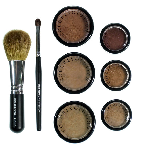 chocolate mineral makeup kit