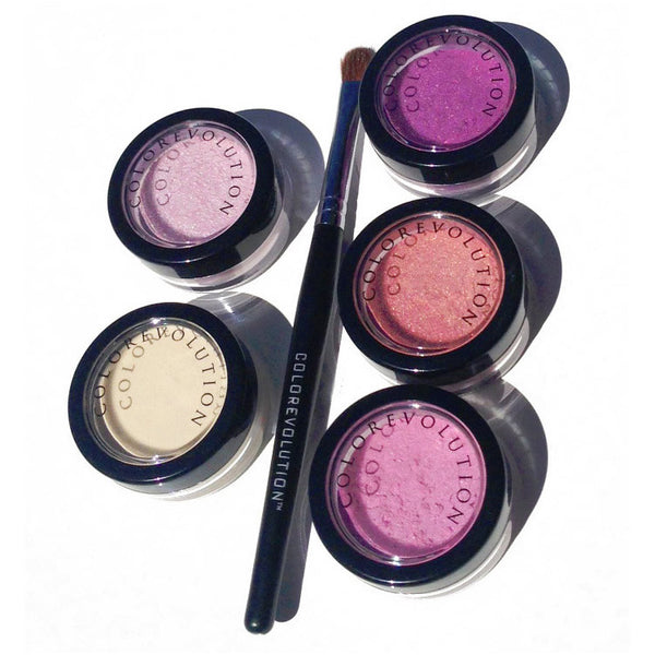 step into spring mineral makeup