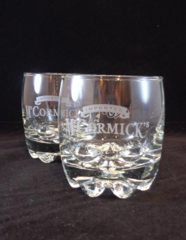Genuine Mc Cormick Glasses  S/2