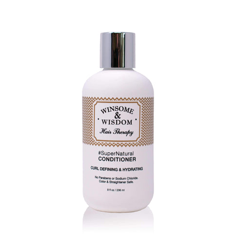 #SuperNatural - 8 oz - Moisturizing Conditioner For Curly Hair