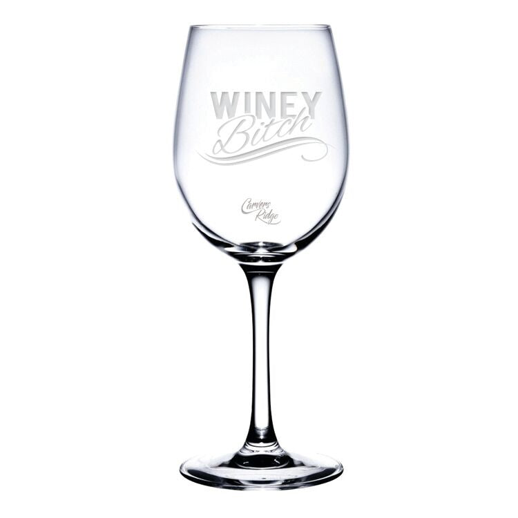 Winey Wine Glass