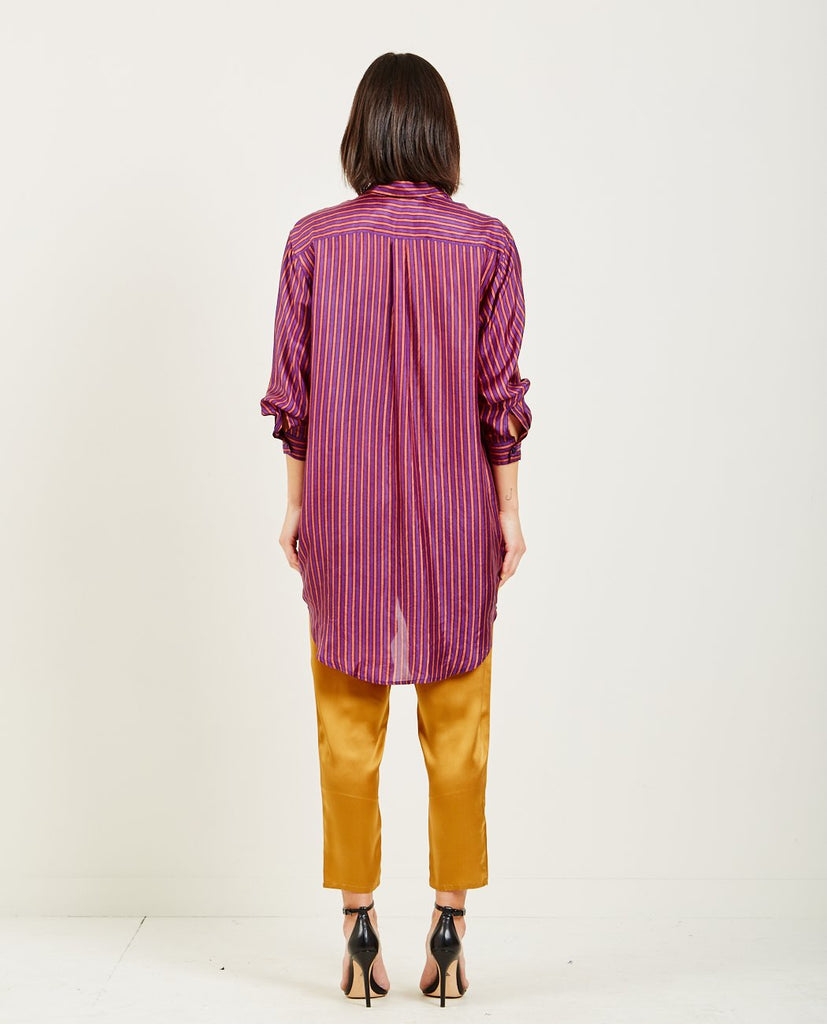 MES DEMOISELLES-SOX LONG STRIPED SHIRT-Blouses-{option1]