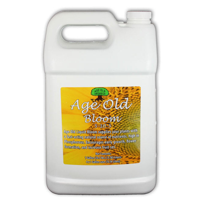Age Old Bloom Gallon Age Old - Pacific Coast Hydroponics Los Angeles