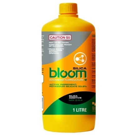 Bloom Advanced Floriculture Silica Bloom. Silica Bloom 53.2% Liter