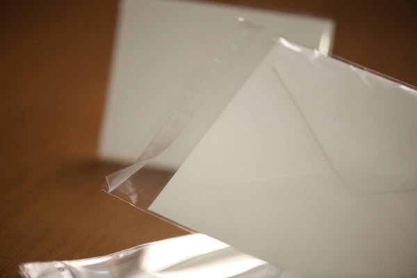Crystal Clear Cello Envelopes - Archival and Acid Free - ACME etal