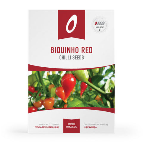 Biquinho Red Chilli Seeds