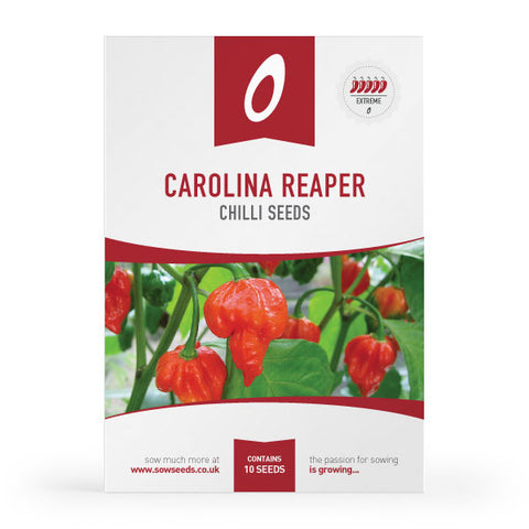 Carolina Reaper Chilli Pepper Seeds