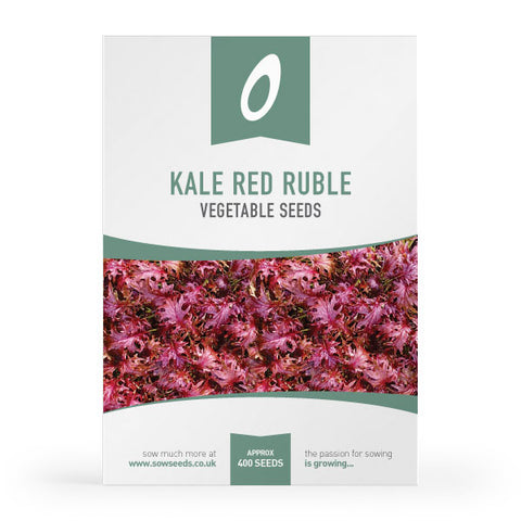 Kale Red Ruble Seeds