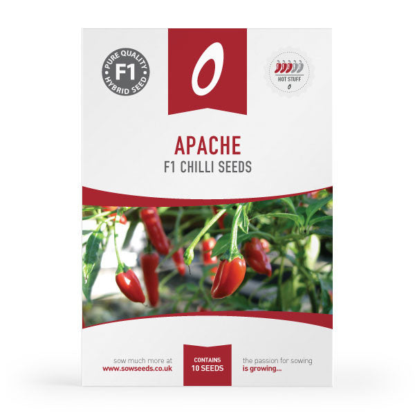 Apache F1 Chilli Seeds (AGM)