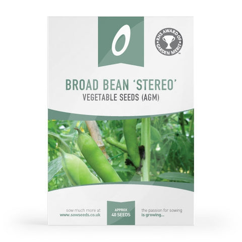 Broad Bean Stereo Seed Packet