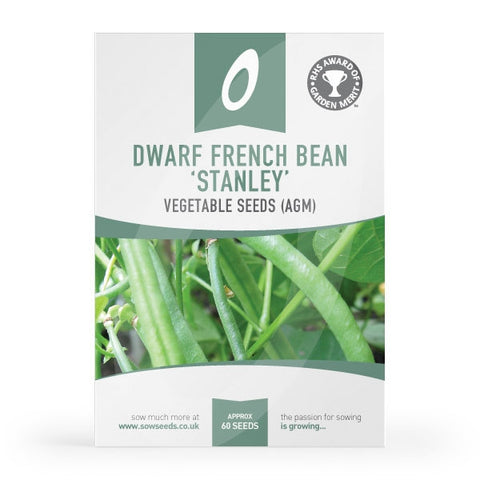 Dwarf French Bean Stanley Seeds
