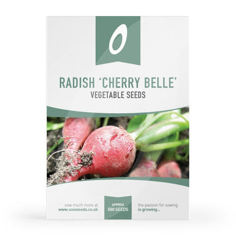 Radish Cherry Belle Seeds
