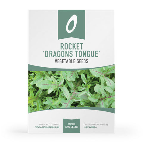 Rocket Dragons Tongue Seed Packet