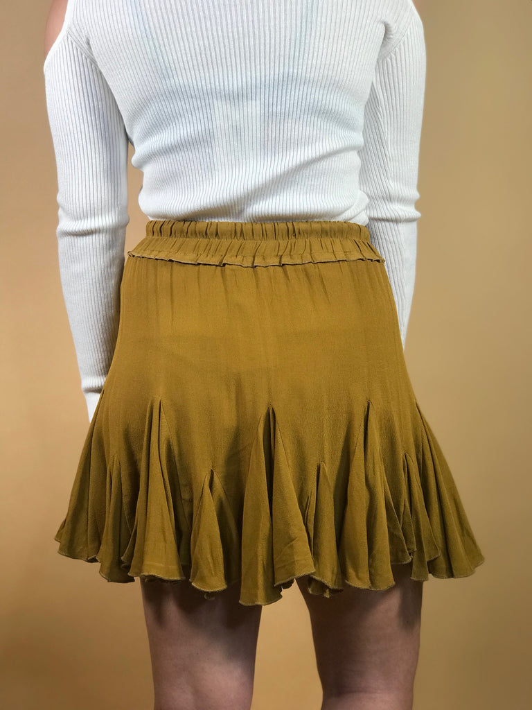 Gracie Ruffled Mini Skirt