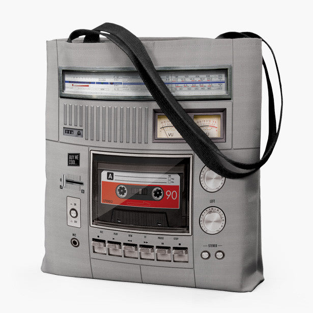 Cassette Deck and Speaker Classic - Tote Bag