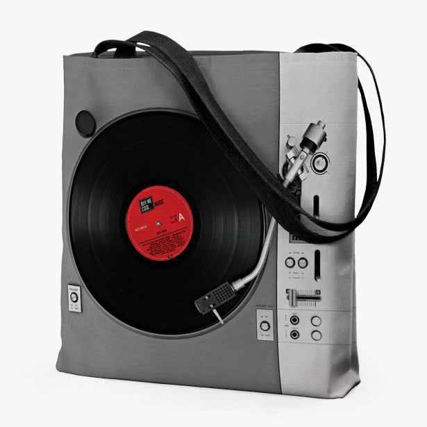 Turntable and Speaker Classic - Tote Bag
