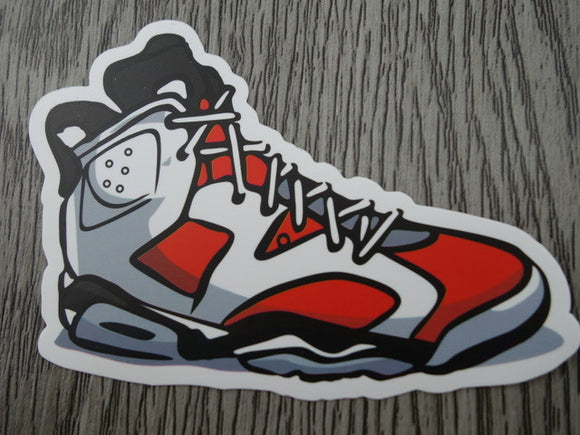 Air Jordan 6 sticker - Design E