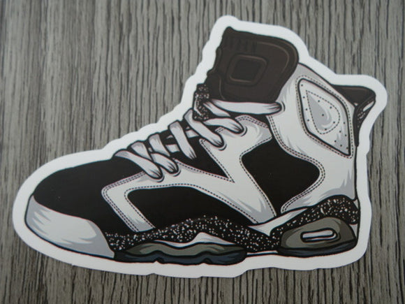 Air Jordan 6 sticker - Design H