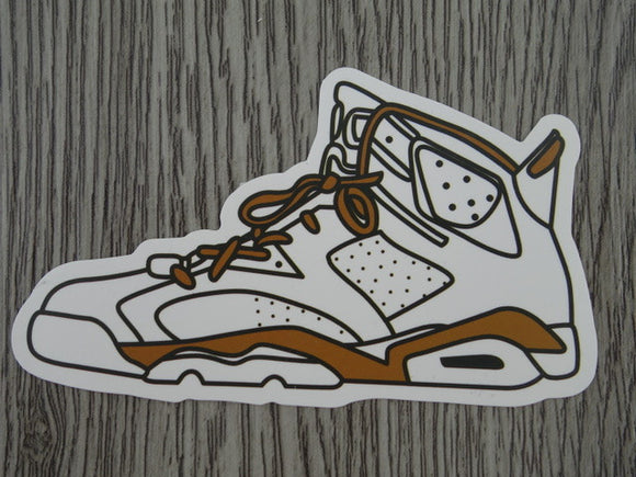 Air Jordan 6 sticker - Design J