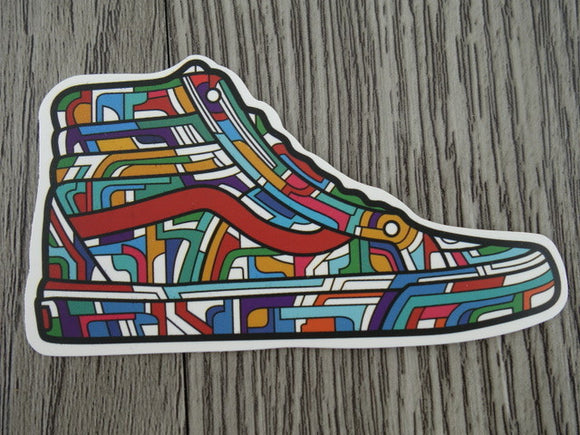 Vans sneaker sticker - design B