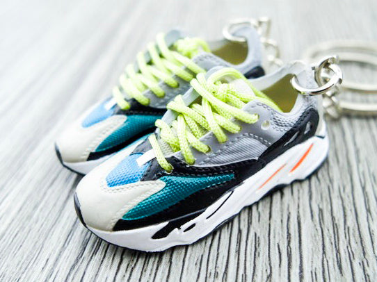 Mini Sneaker Keychains Adidas Yeezy Boost 700 - Wave Runner