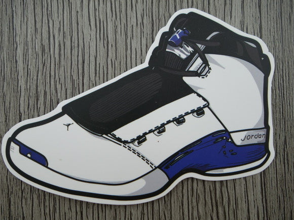 Air Jordan 17 sticker - Design A
