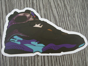Air Jordan 8 sticker - Design C