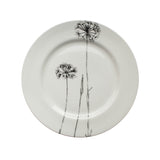 Thin Dandelion, Botanical Dinner Plate, 26cm