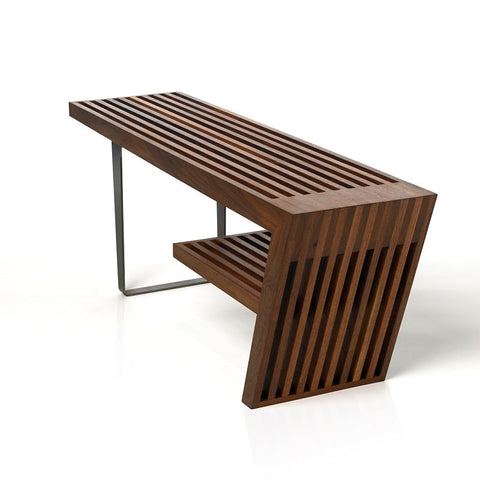 Freeman bench - walnut