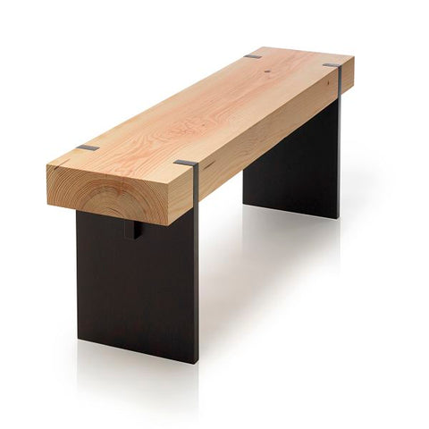 Tillikum bench - Black